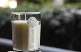 Honest orange vanilla candle