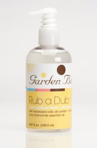 Garden Girl Rub a Dub Baby Wash