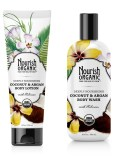 Nourish coconut and argan line