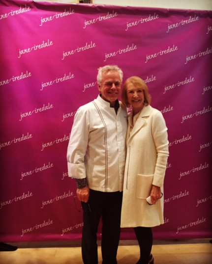 Jane Iredale and David Bouley